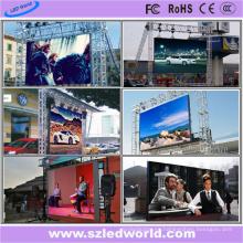 Pantalla a todo color al aire libre del alquiler de P8 LED Fabricación de China (FCC)