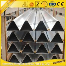 Liga de alumínio do triângulo Custmoized para a decoração da mobília