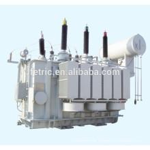 Three phase oil immersed type copper winding wound core low loss 35kv 66kv 110kv 132kV 220kV 21.6mva power transformer