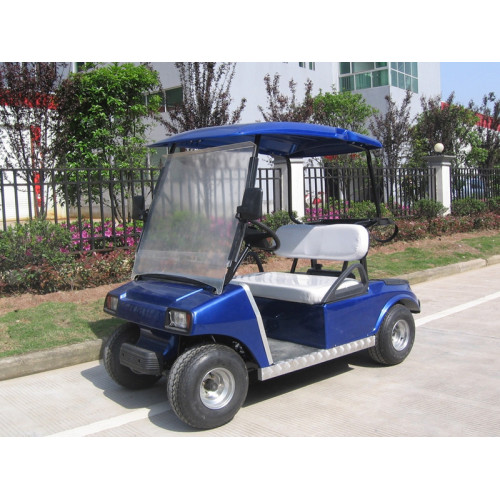 Cheap 2 asientos mini carro de golf de gas