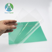OCAN 0.25mm transparent clear solid pc polycarbonate sheet for helmet