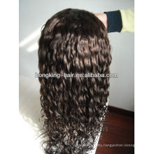indian virgin humann hair full lace wig in stock