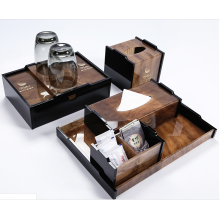 Custom Luxury Acrylic Hotel Amenity Set