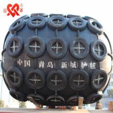 Fabriqué en Chine Garde-boue flottant en caoutchouc pneumatique de marine, amortisseur de type de Yokohama, amortisseur gonflable de bateau utilisé pour le bateau ou le dock