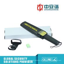 Detector de metais portáteis de alta segurança com sensibilidade de verificação de grampos