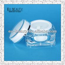 Hochwertige Acryl-Gläser Kosmetik 50g