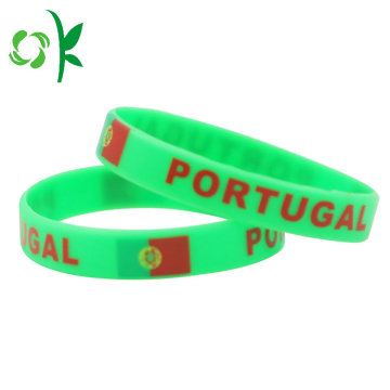 Percetakan Custom Wedding Wristbands Festival Wristband Bangle