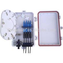 FTTH 8 12 16 24 32 boîte à bornes de distribution mini fibre optique 48 cœurs ip65 avec prix d'usine bon marché