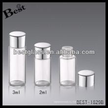 2/3 мл алюминиевый колпачок бутылки с пробкой,серебряные алюминиевые крышки винта бутылки с пробкой