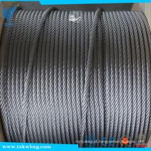 1 * 19 corda de aço 4 milímetros 316 corda de aço inoxidável