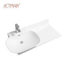 Lavabo en porcelaine évier en céramique salle de bain