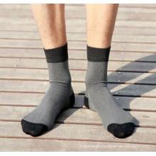 Men′s Bamboo Business Crew Socks (MA036)