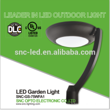 Good Quality 75W LED Garden Post Top Light with UL DLC
