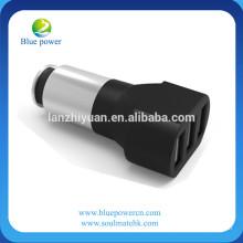 Cargador universal del coche USB para el iphone para el cargador del coche del multi-fuction de Samsung adaptador del usb 3 puertos del USB