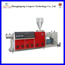 Extrusor de tornillo único plástico, máquina de la producción del tubo de PPR