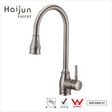 Haijun Commercial Pull Down 0.1 ~ 1.6MPa Mezclador de cocina Grifería de agua Grifería