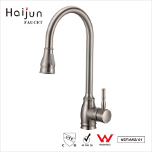Haijun Factory Price Deck-Mounted Pull Down Waterfall Kitchen Tap Mixer Faucet