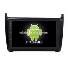 Octa core! Android 7.1 voiture dvd pour POLO avec écran capacitif de 9 pouces / GPS / lien miroir / DVR / TPMS / OBD2 / WIFI / 4G