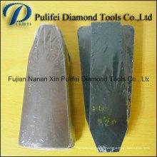 Diamond Abrasive Resin Fickert Granite Polishing Brick for Auto Polisher