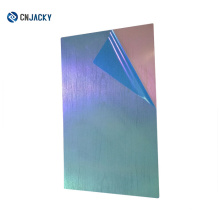 Shanghai Good Quantity A4 Matte Patterned Steel Plate for PVC Card Laminating