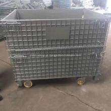 Gaiola de armazenamento com rodas para vendas