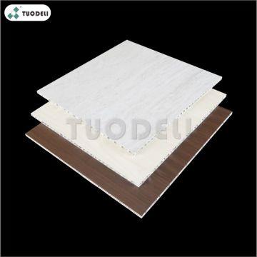 Panel de nido de abeja de aluminio de PVC