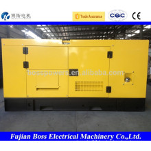 80KW weifang soundproof electric generator diesel