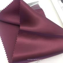 Serviço de estoque 100% tecido cupro tingido cetim tecido forro bemberg