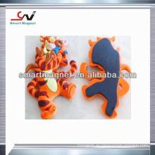 La publicidad promocional más barata modificó el imán del refrigerador del PVC 3D