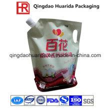 Bolsa de envasado de alimentos líquidos, plástico Stand up Spout Pouch