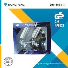 Rongpeng R8821 HVLP Kit pistolet pulvérisateur
