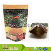 Top Quality Nice Printed Banana Chips Packaging Laminated Kraft Paper Bag with Window