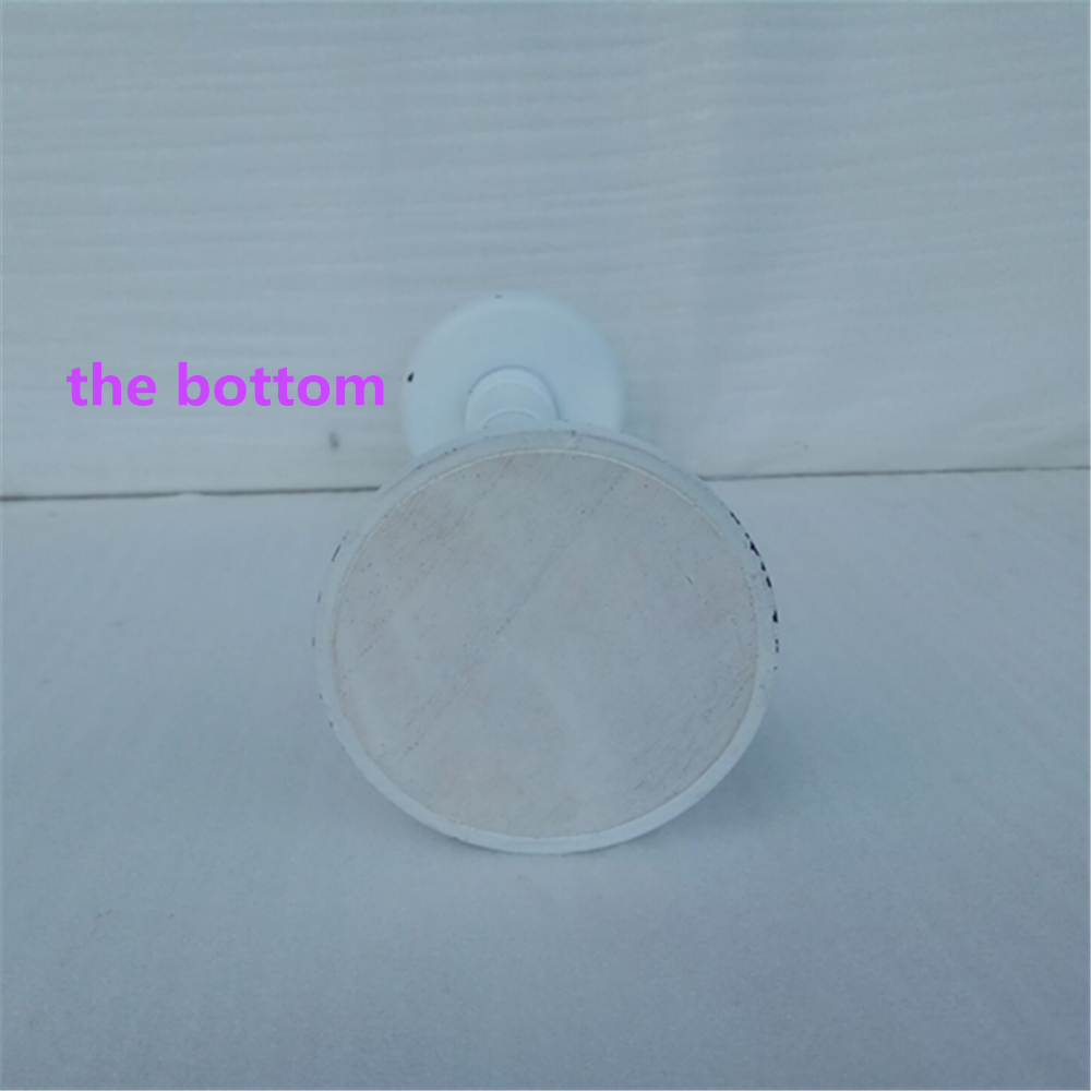 the bottom of candle holder