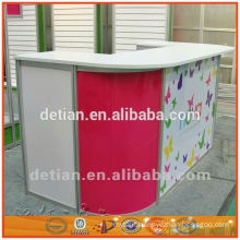 4m*8m light collapsible and portable reception desk or display stall