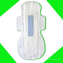Tampon anion maxi de marque privée avec coton super doux de serviettes hygiéniques
