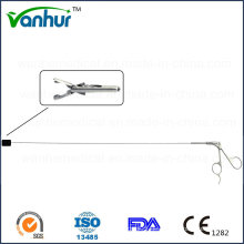 Hysteroskopie / Uteroskop Set Rigid Loop Fangzange