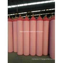 Cylindre à gaz rouge à oxygène 40L (QF-2C)
