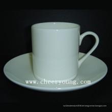 Bone China Teekocher Tasse und Untertasse (CY-B541)