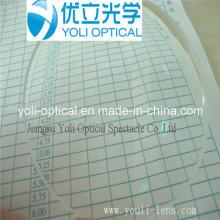 1.60 Revestimento Verde Asp UV400 Hmc Óptica com EMI