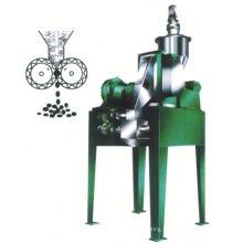 2017 GZL series dry method roll press granulator, SS top spray granulation process, horizontal electric grain grinder