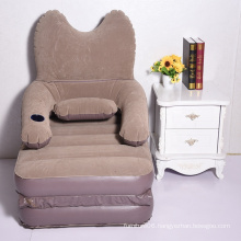 Folding inflatable sofa bed