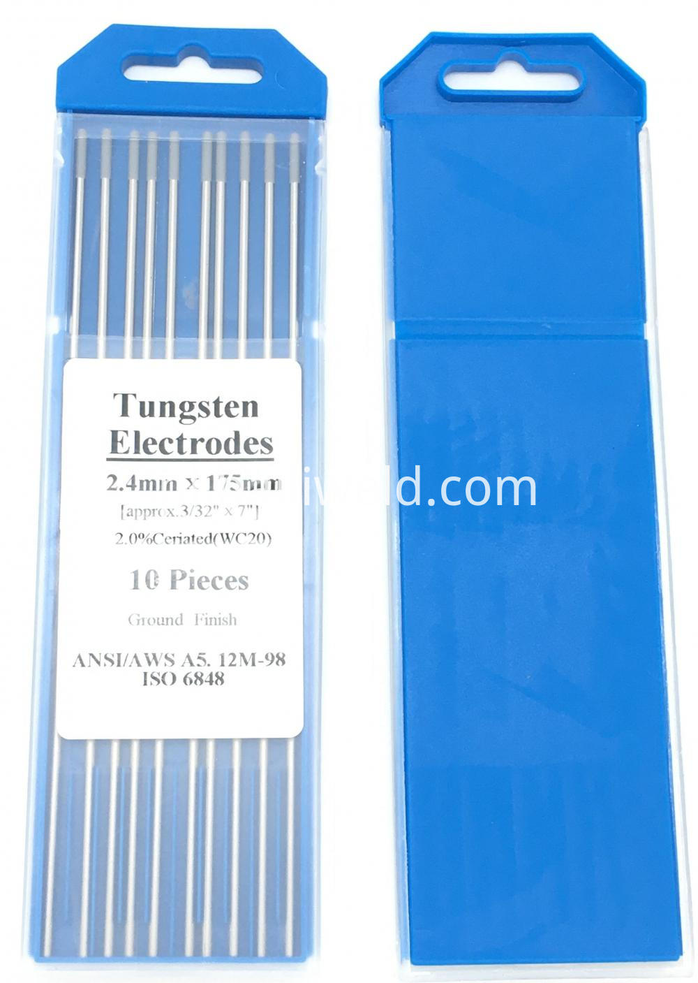 Wc20 Cerium Tungsten Electrode 2 4mmx175mm