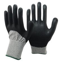 NMSAFETY brand safety nitrile gloves cut resistant en388