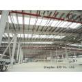 Acier de construction préfabriqués entrepôt