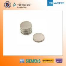 Imán de neodimio N42 D20 * 3 mm