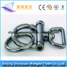 Alibaba Acessórios moda saco fivelas metal bronze bloqueio metal saco fivela