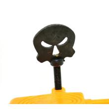 Halloween benutzerdefinierte Iron Skull Tattoo Maschine Vise Schraube