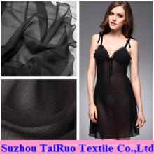 100% Polyester Silk Chiffon for Lady Sleep Cloth Fabric