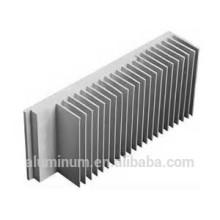 Perfil del radiador de aluminio