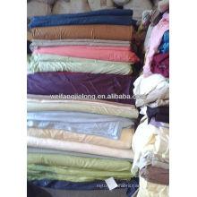 100% cotton dyed bedsheeting stocks fabric